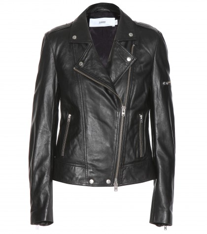 Closed Leather Biker Jacket