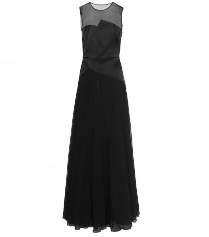 3.1 Phillip Lim Satin-chiffon Dress