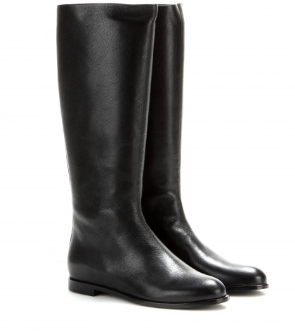 Alexander McQueen City Leather Boots