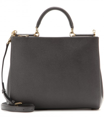 Dolce & Gabbana Miss Sicily Leather Tote