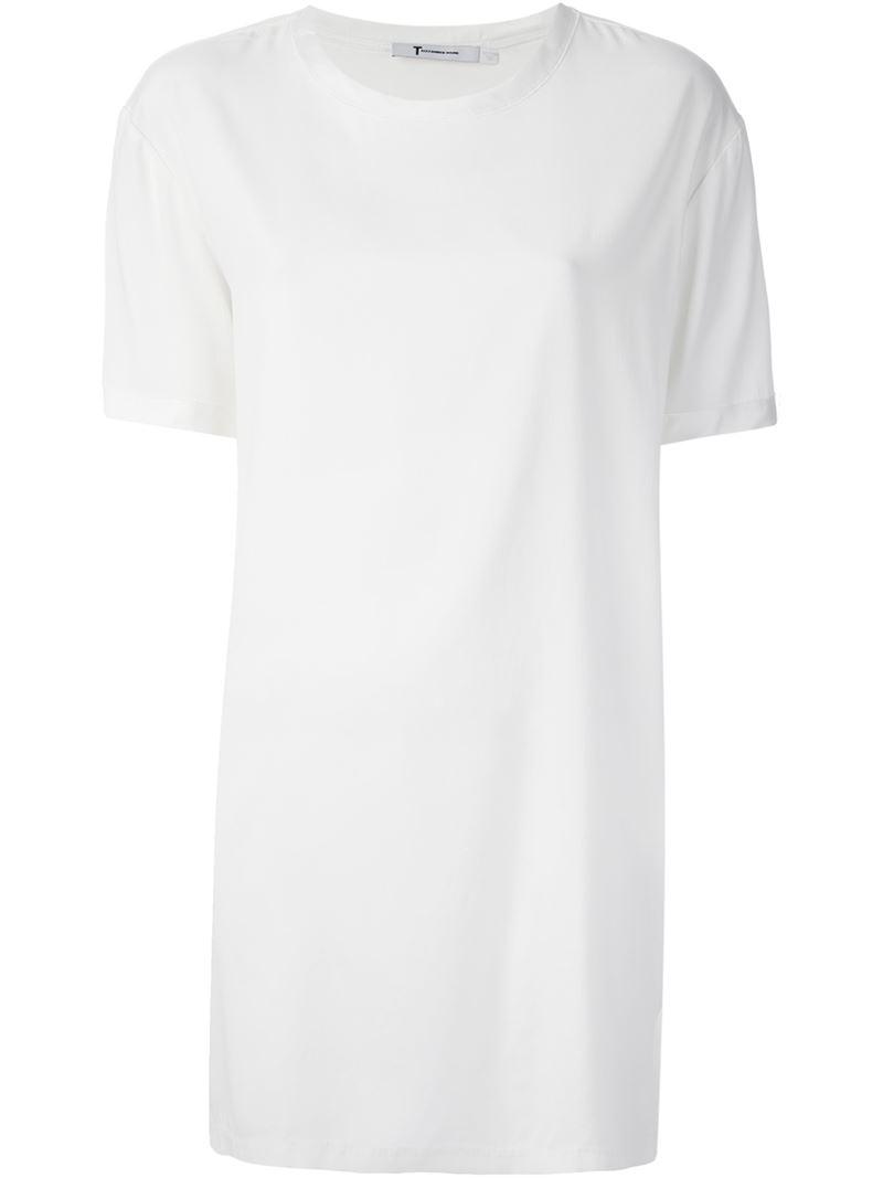 T By Alexander Wang T-shirt dress