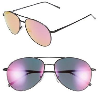 Illesteva 'Lispenard' 57mm Polarized Sunglasses