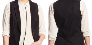 Calvin Klein Women's Mesh Collar Vest