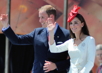 Kate and William Canada Day 2011 Ottawa Ontario Canada