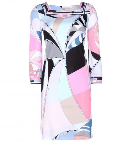 Emilio Pucci Printed Stretch Dress