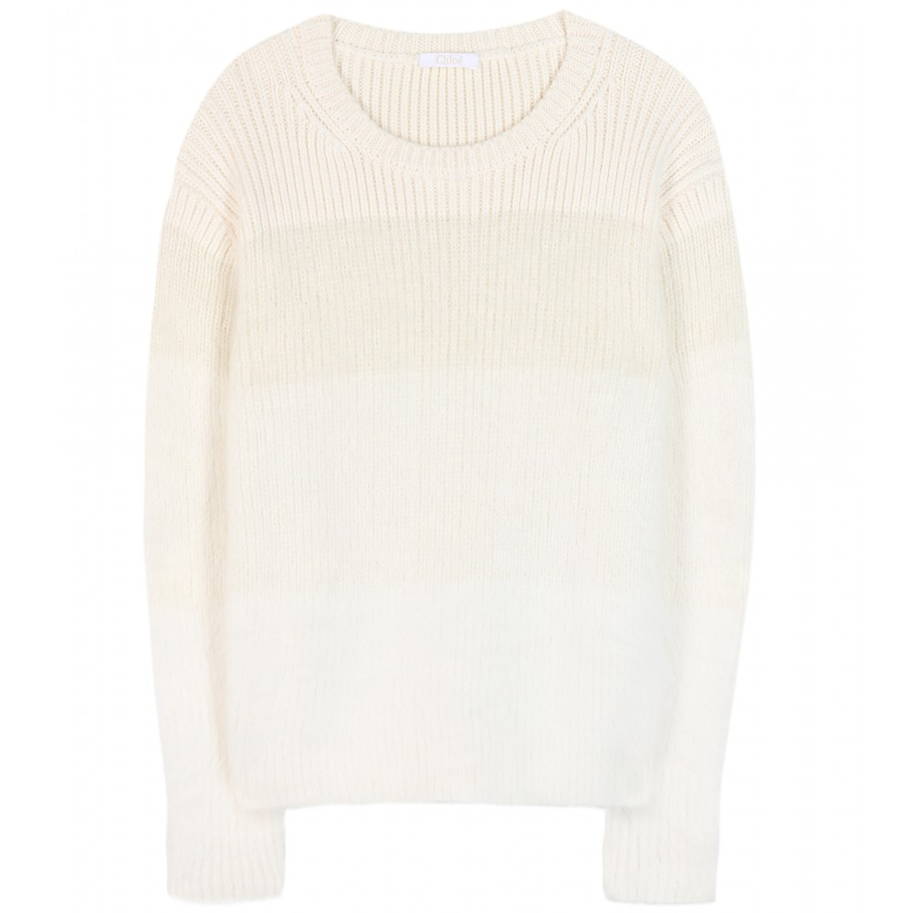Chloé Mohair and angora-blend sweater