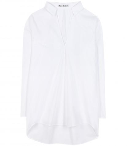 Acne Studios Lain Poplin Cotton Shirt