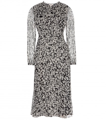 Burberry Brit Tabatha Silk-chiffon Dress