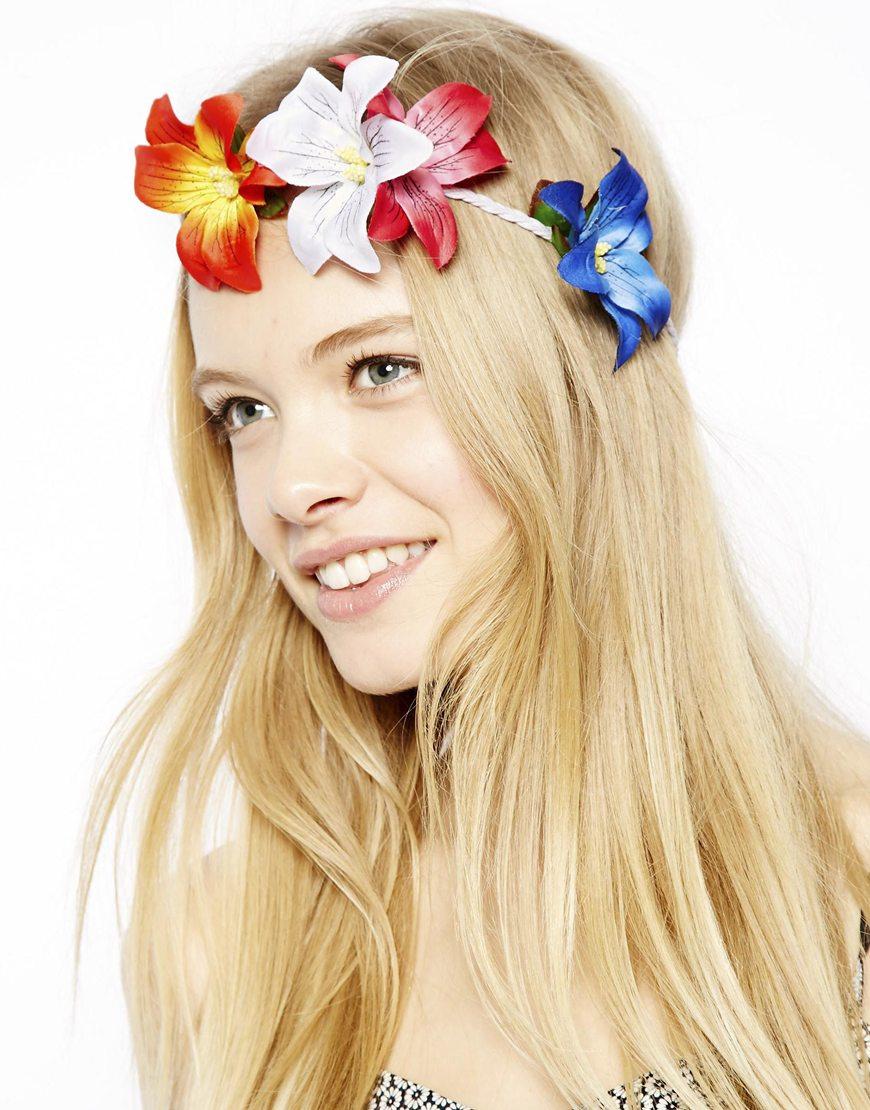 ASOS Hibiscus Flower Headband