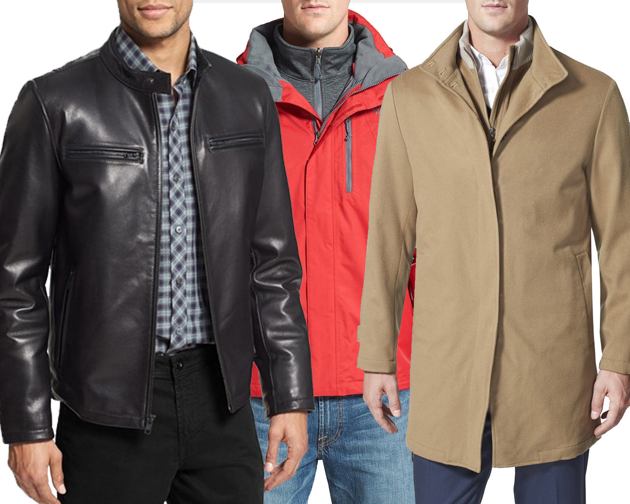 10 essential coat styles for him according to Nordstrom