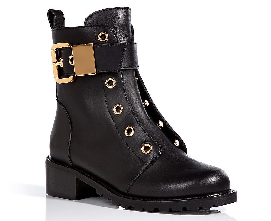 Giuseppe Zanotti Leather Combat Boots