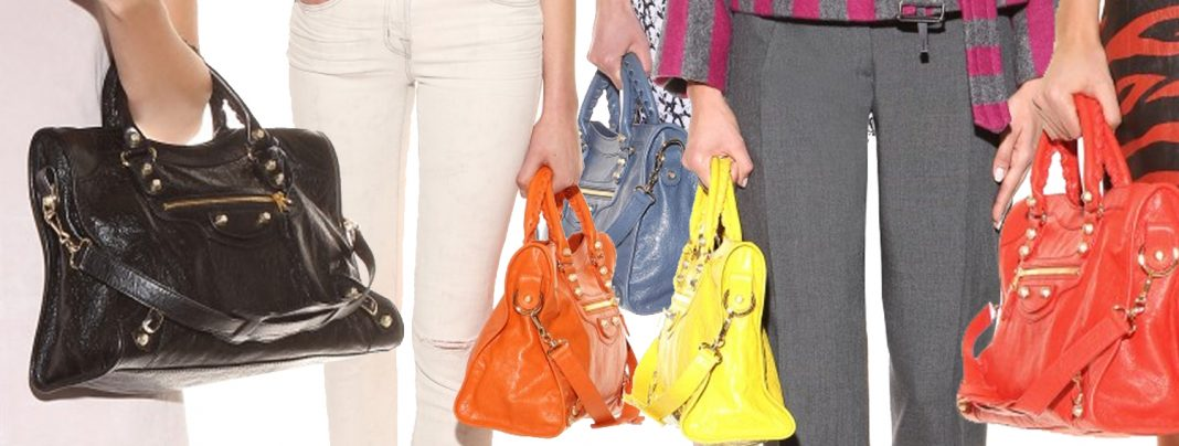 Balenciaga Giant 12 City leather tote bags