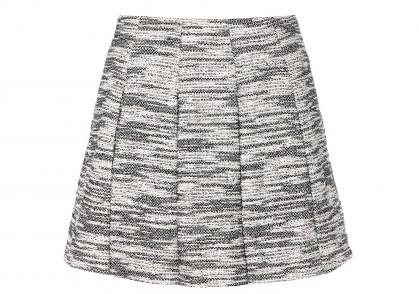 Alice + Olivia Davis boucle a-line skirt