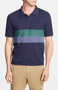 Band of Outsiders Chest Stripe Polo