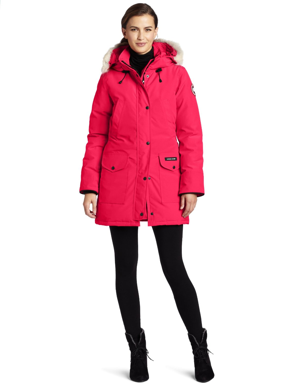 Canada Goose Women's Trillium Parka summit pink