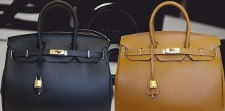 Carbotti Birkin Inspired Style Classico Leather Handbag