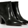Laurence Dacade Pointed Toe Leather Ankle Boots