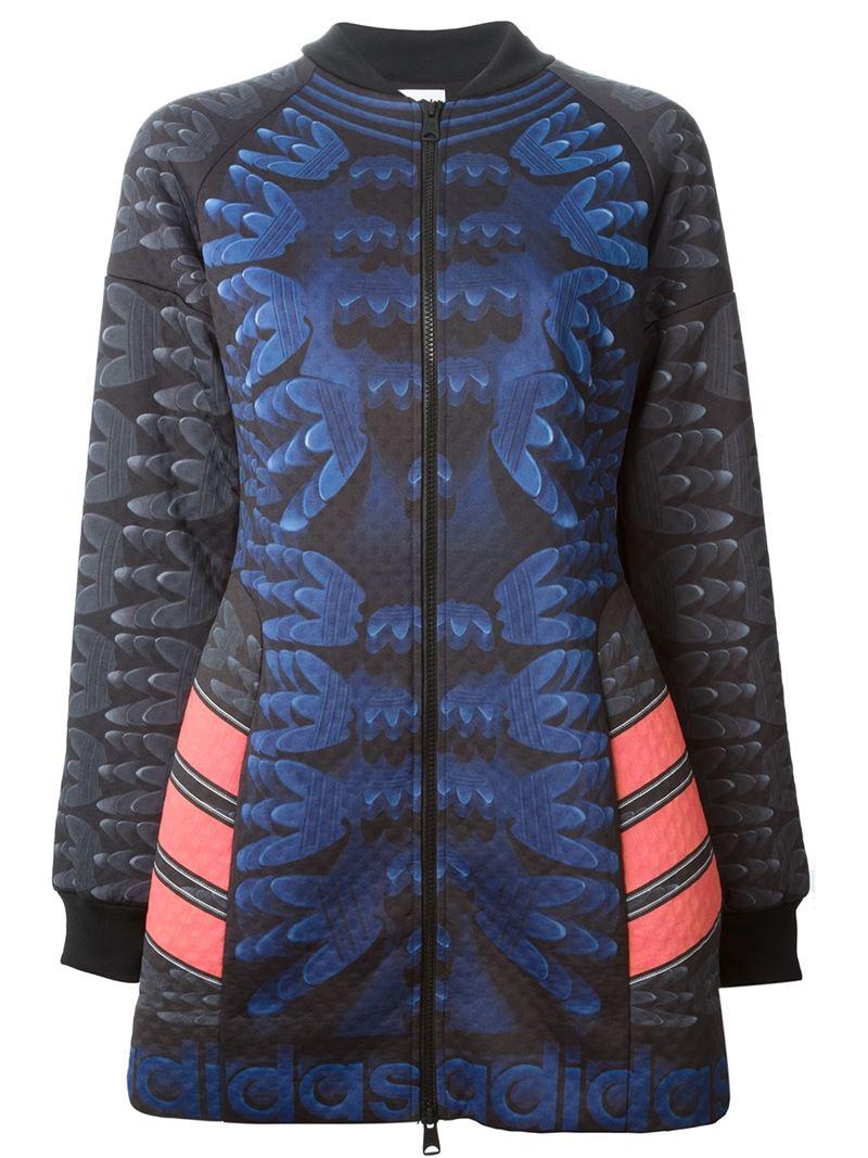 MARY KATRANTZOU X ADIDAS ORIGINALS track jacket dress