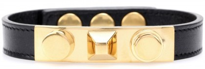 Saint Laurent Studded Leather Bracelet