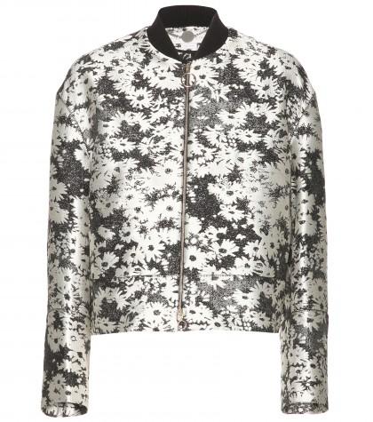 Stella McCartney Fifi Jacquard Bomber Jacket