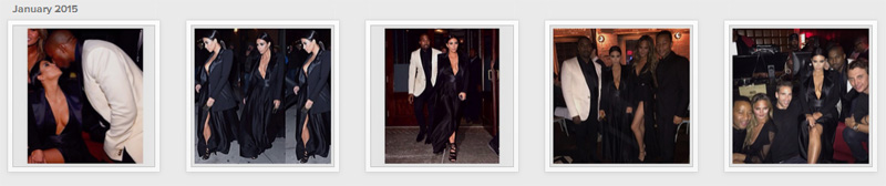 kim kardashian john legend birthday party