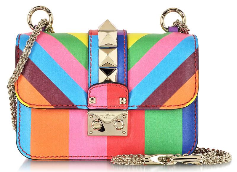 Valentino Multicolor Leather Mini Shoulder Bag