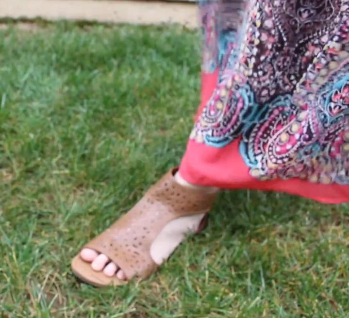 Annelies xhilaration maxi dress payless sandals 2
