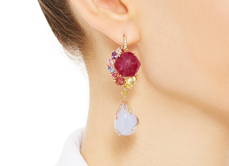 Bailie eardrops earrings sharon Khazzam