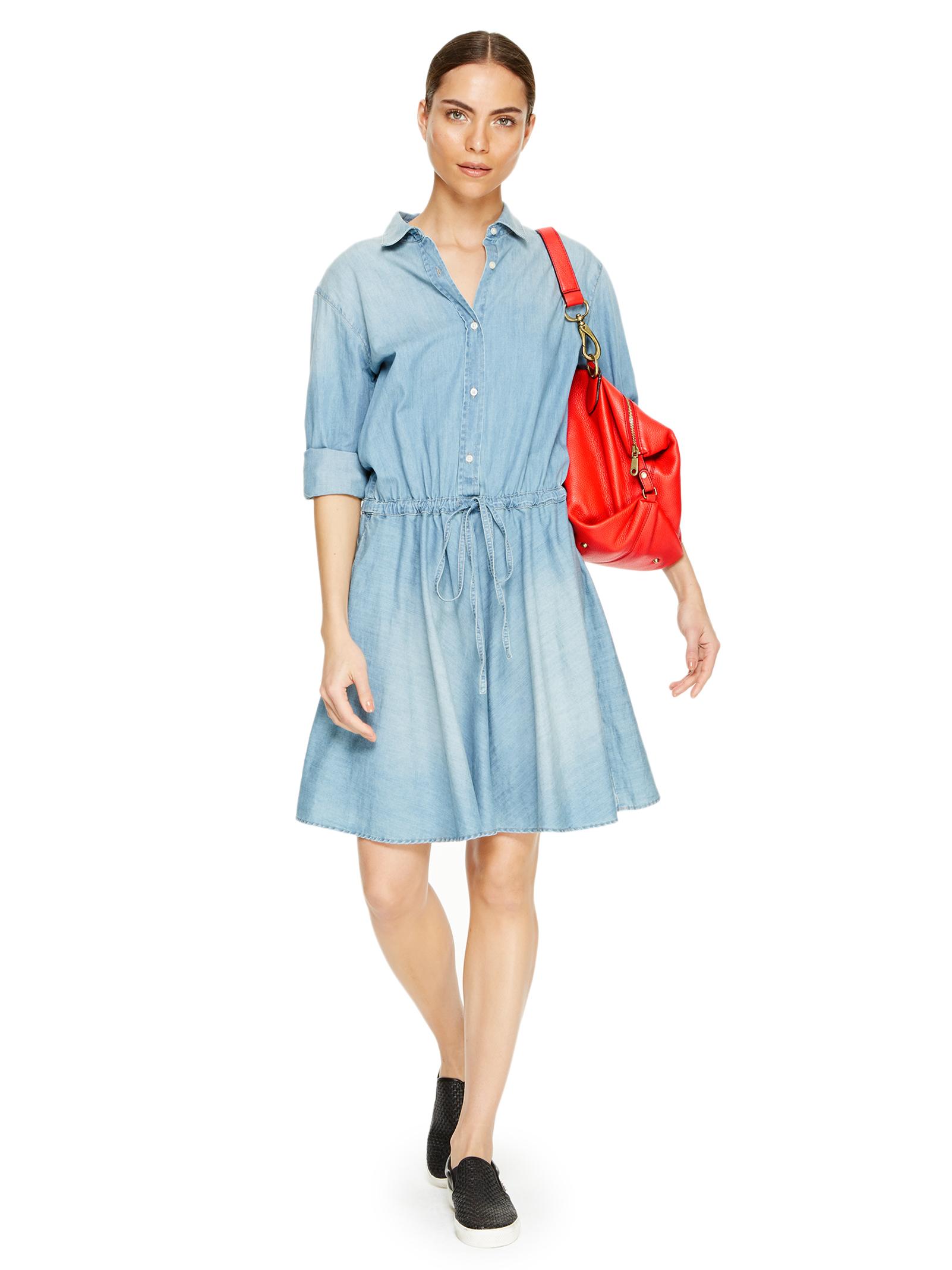 DKNYpure Lightweight Denim Dress
