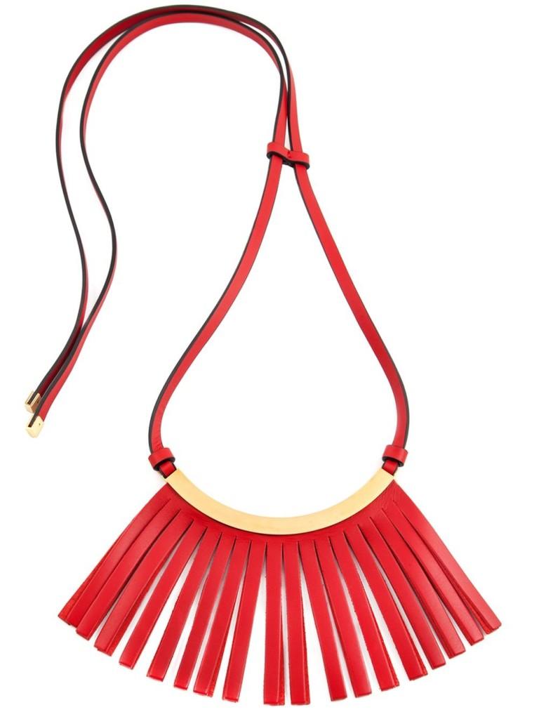 Marni fringed necklace