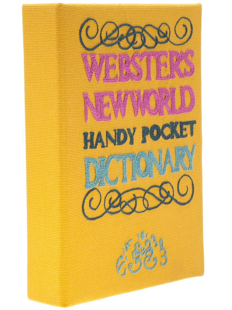 Olympia Le-Tan 'Webster's New World Dictionary' clutch