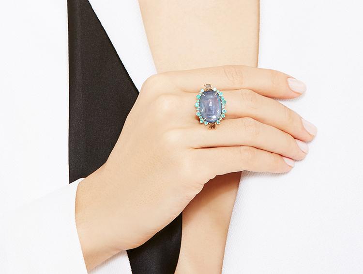 Sharon Khazzam One Of A Kind Dendra Ring