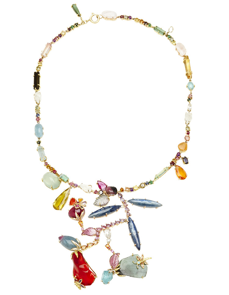 Sharon Khazzam One Of A Kind Reeni Necklace