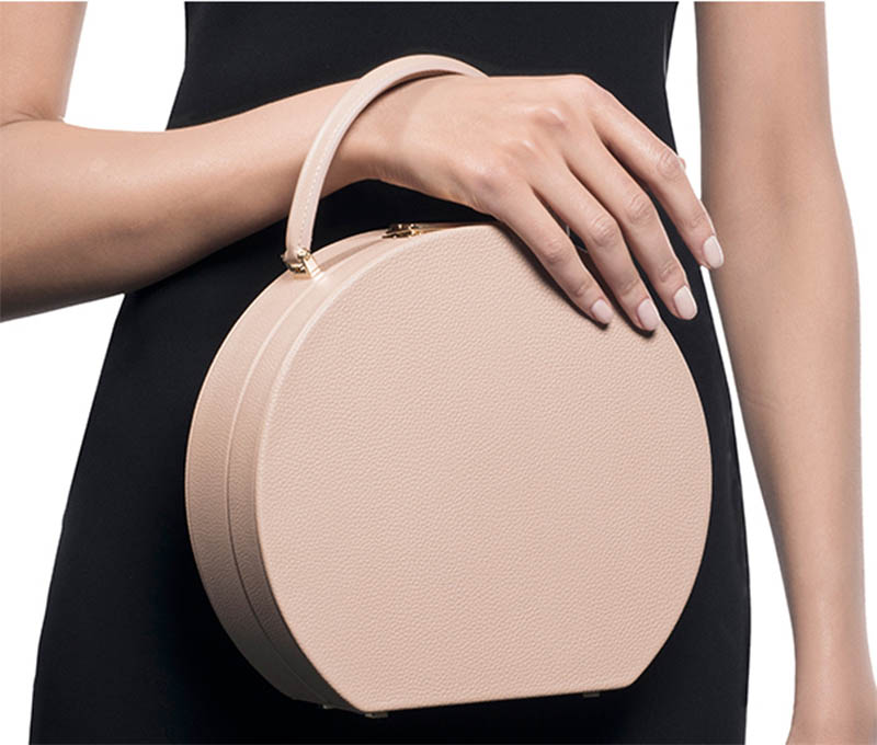 Buwood Calf Leather Natural Ideal Bumi 22 Top Handle Bag