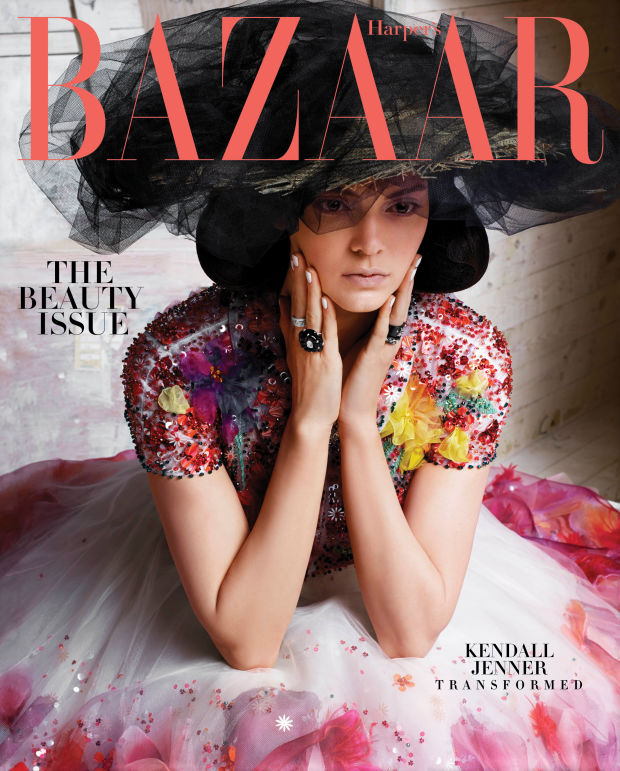 Kendall Jenner May 2015 Harper's Bazaar Subscriber cover