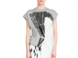 Marc by Marc Jacobs Blurred Dots Printed Dress with Tulle