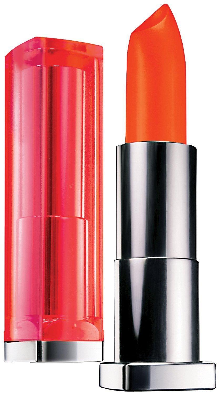 Maybelline New York Color Sensational Vivids Lipcolor Electric Orange