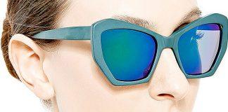 Prism Brasilia Mirrored-Lens Acetate Sunglasses
