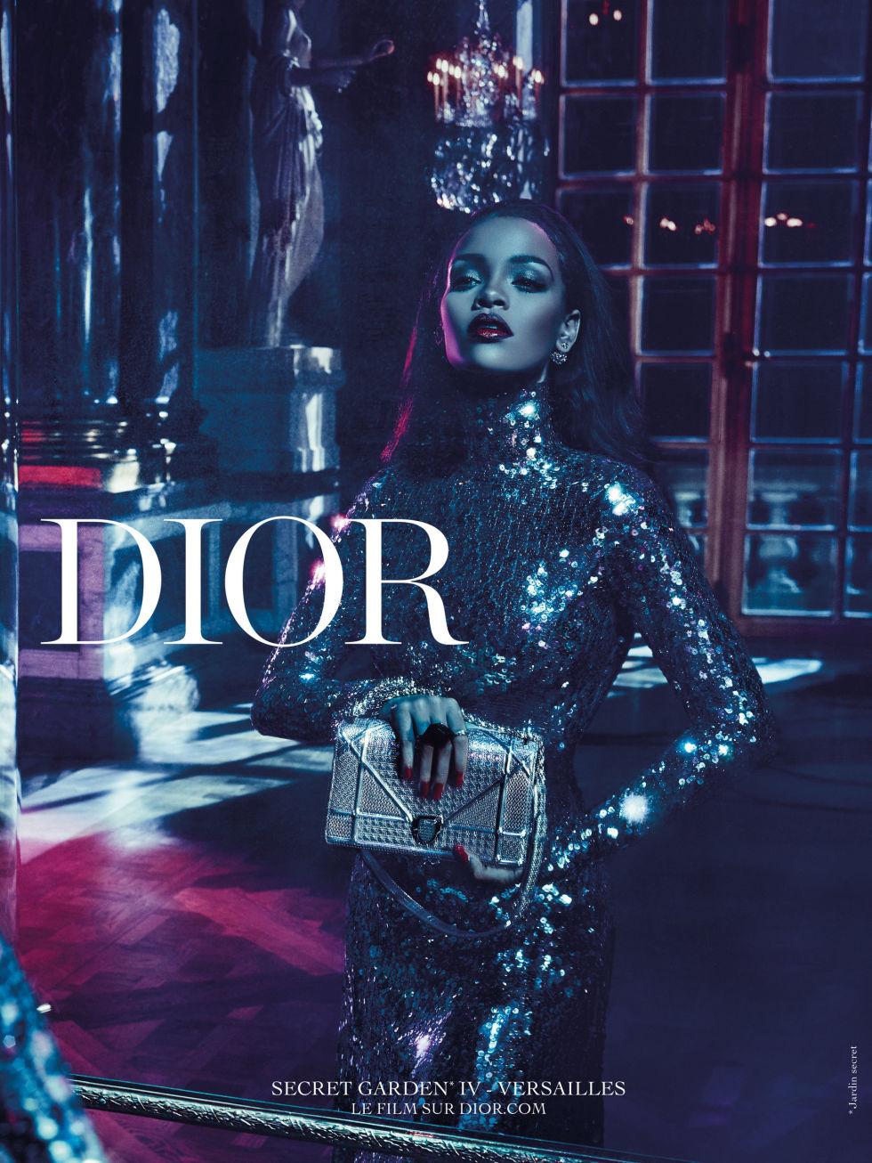 Rihanna Dior Secret Garden