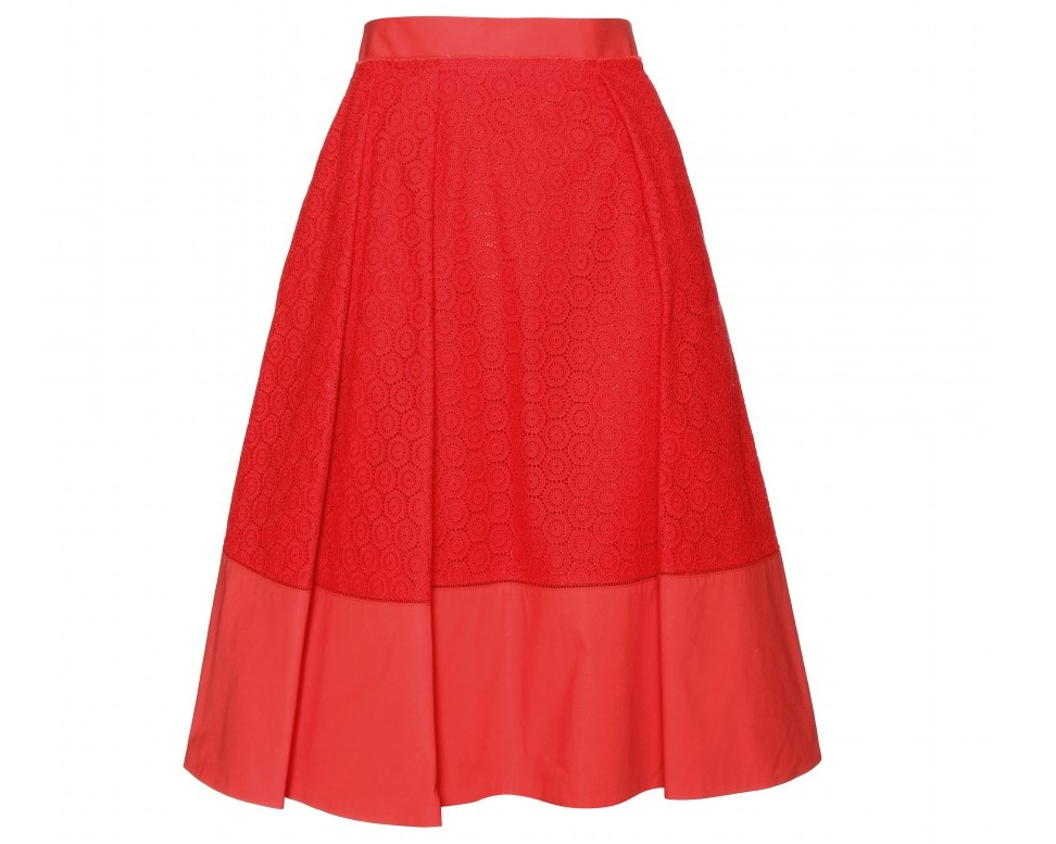 Salvatore Ferragamo Cotton skirt