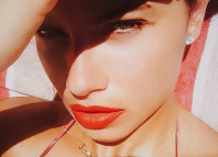 Adriana Lima summer mood in Miami heat