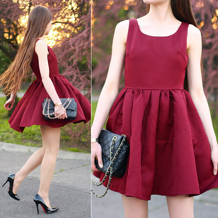 What Color Shoes To Wear With A Burgundy Dress My Fashion Wants