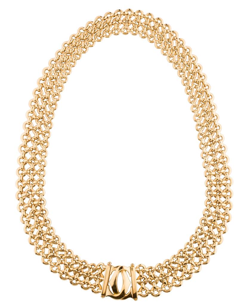 Cartier Penelope Double C Necklace