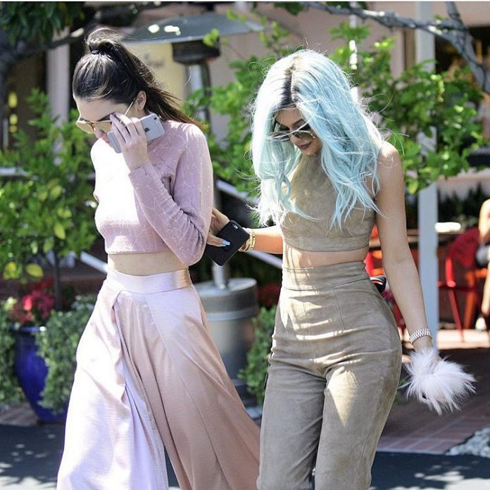 Kendall Jenner Kylie Jenner cropped tops