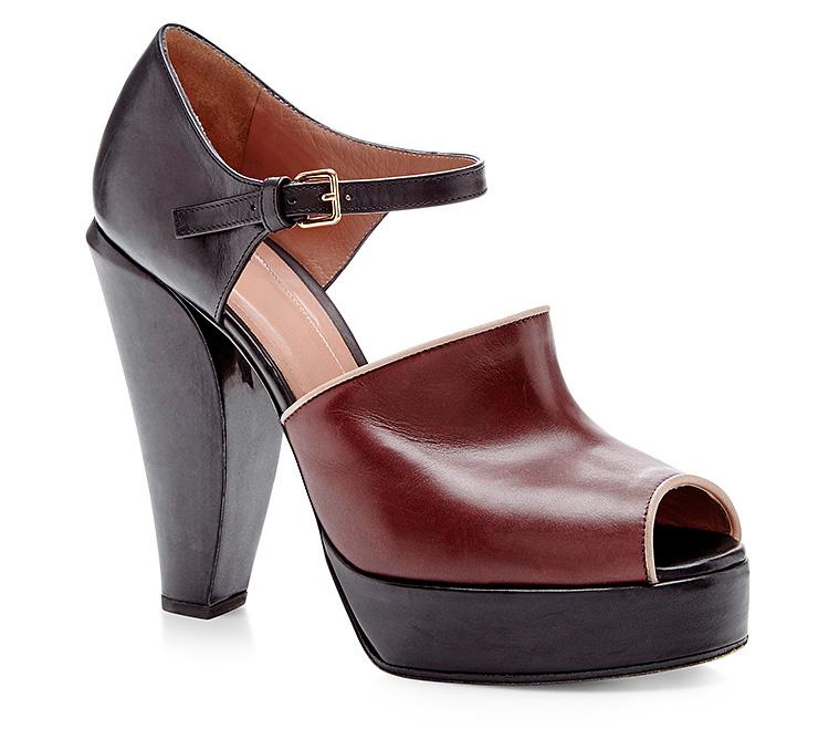 Marni High Heeled Mary Jane Shoes