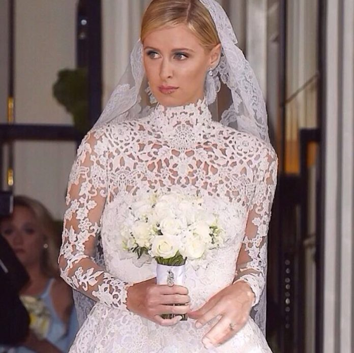 Nicky Hilton gets married in 75000 Valentino wedding gown
