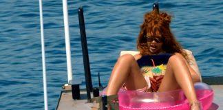 Rihanna Bitch better have my money video screen shot