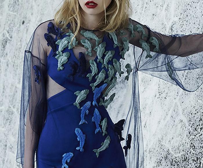 Alena Akhmadullina Embellished Overlay Dress
