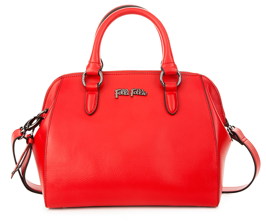 Folli Follie Nomad red leather bag