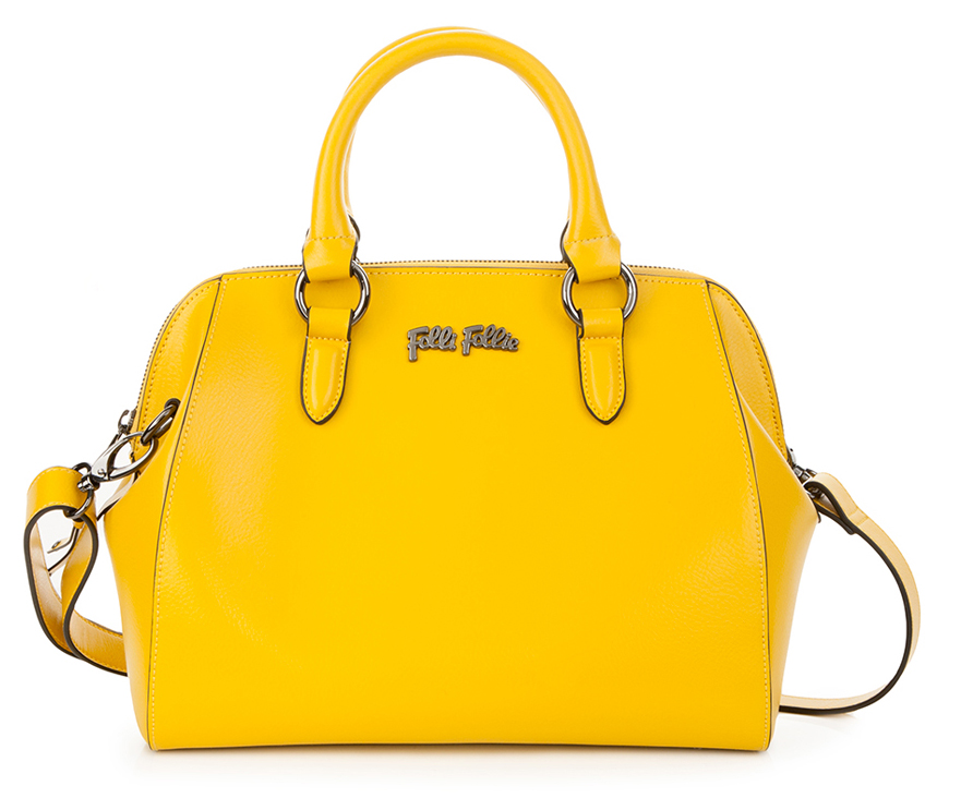 Folli Follie Nomad yellow leather bag